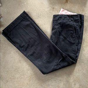 JCrew City fit stretch black pants
